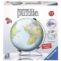 Ravensburger World Globe 3D Puzzle 540pc,3D Puzzles
