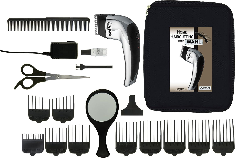 Wahl Deluxe Self Cut - Afeitadora Negro, Plata: Amazon.es: Salud y ...