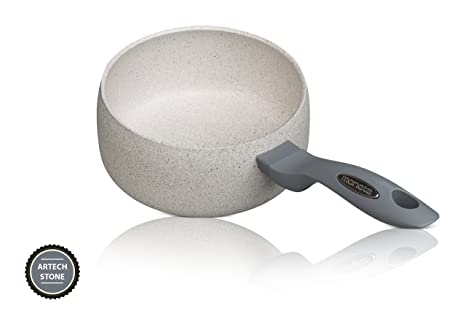 Moneta - Mammola Stone - Cazo / Cacerola 16 cm – Con asas – Recubrimiento cerámico