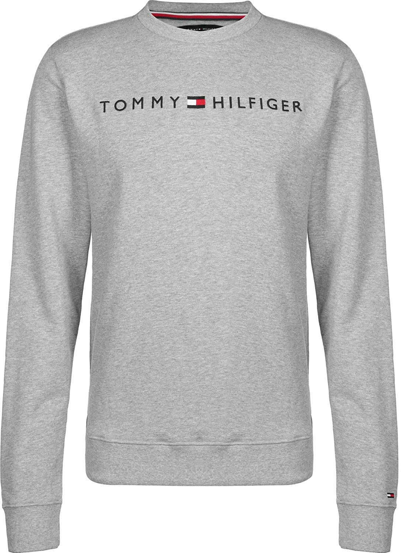 Grey Tommy Hilfiger Mens Graphic Sweatshirt