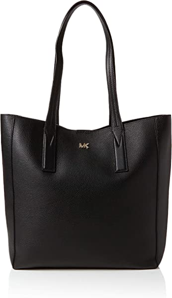 9a762ca7ccc5 Michael Kors Junie Large Pebbled Leather Tote, Women's Black, 12.7x34.2x48.