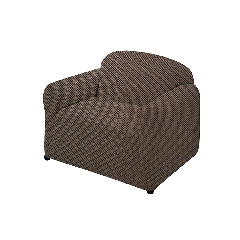 Ashley Mills Easy Stretch Sofa Cover (2 Seater) (Wine) UTCH103_7