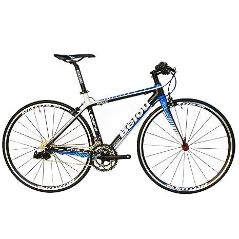 Carbon Road Bike Amazon Com >> Amazon Com Beiou Carbon Comfortable Bicycles 700c Road Bike