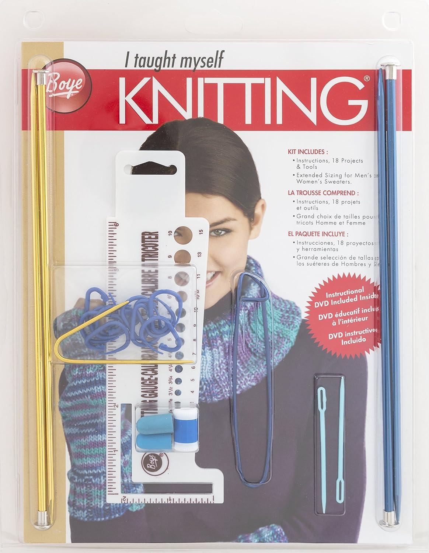 Boye Beginners Teach Yourself Knitting Set 3616398000W