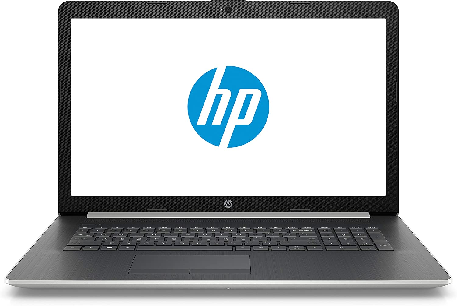 "2018 Newest HP 17.3"" HD+ Notebook, Intel Core i5-8250U Processor, 24GB Memory: 16GB Intel Optane + 8GB RAM, 2TB Hard Drive, Optical Drive, HD Webcam, Backlit Keyboard, Windows 10, Natural Silver"