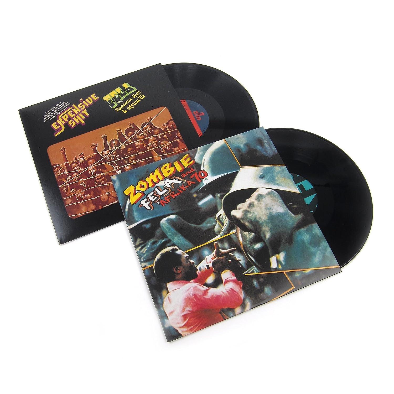 Fela Kuti And Afrika 70: Vinyl LP Album Pack (Zombie, Expensive Sht)
