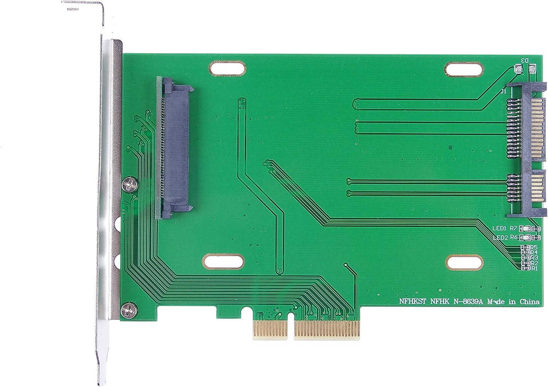 Knacro Pci E 3 0 X4 Lane Auf U 2 U2 Kit Sff 8639 Host Adapter Für Intel Motherboard 750 Nvme Pcie Ssd Computer Zubehör