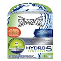 Wilkinson Sword Hydro 5 Sensitive Razor Blades - Pack of 8 Blades