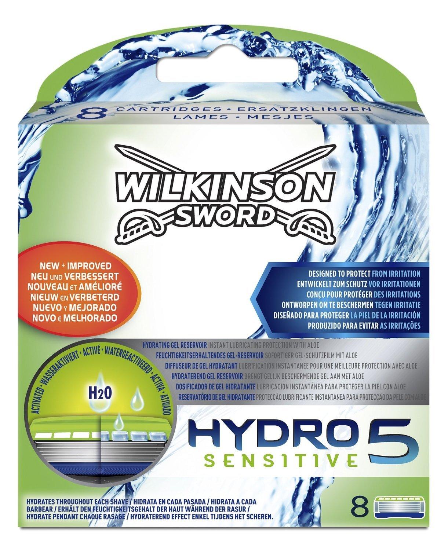 Wilkinson Sword Hydro 5 Sensitive Razor Blades - Pack of 8 Blades product image
