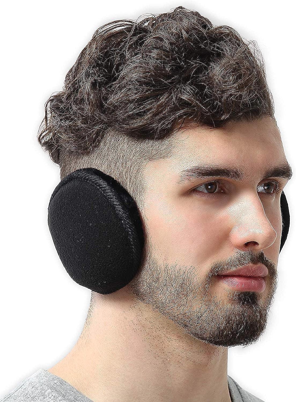 Mens Comfortable Earmuff Soft Earmuffs Ear Warmers Winter Accessory W