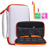 KINGTOP New Nintendo 2DS XL LL Protective Carrying Case Hard Shell Travel Bag for New Nintendo 2DS XL/LL New Nintendo 3DS/XL/LL