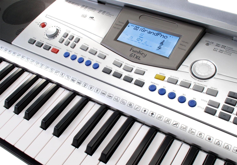 Funkey 61 xl keyboard amazon musical instruments hexwebz Image collections