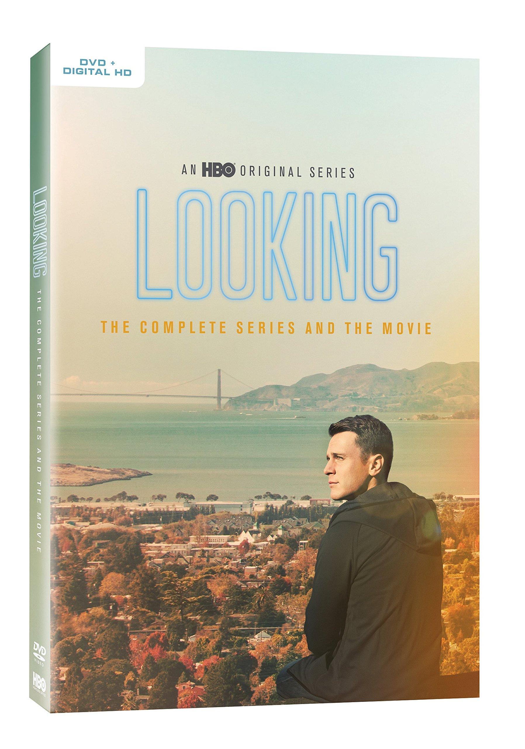 DVD : Looking: The Complete Series & Movie (Ultraviolet Digital Copy, Full Frame, Slipsleeve Packaging, 2 Pack, Digital Theater System)
