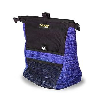 Charko Kurb Bolsa de magnesio para Boulder, Unisex, Azul, Bucket: Amazon.es: Zapatos y complementos