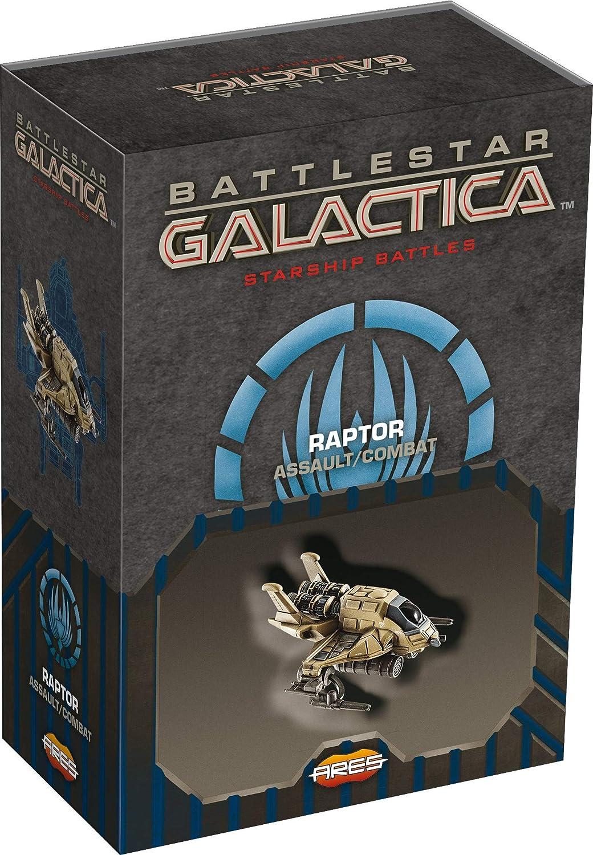 Ares Games Battlestar Galactica Starship Battles: Raptor (Assault/Combat) Spaceship Pack