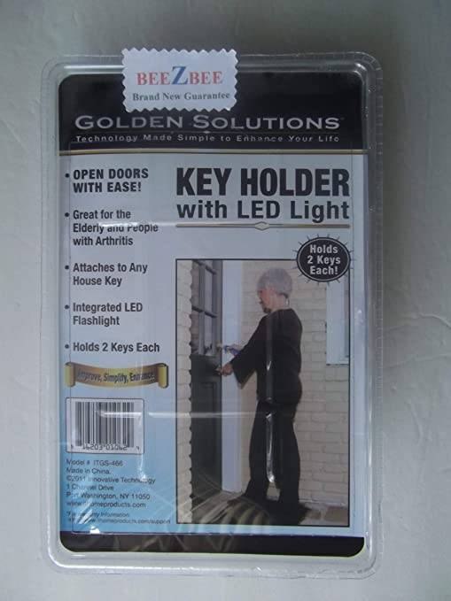 GOLDEN SOLUTIONS KEY HOLDER WITH LED LIGHT