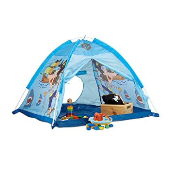 Relaxdays Pirate Play Tent For Boys Age 3 and Up Indoor and Outdoor Playhouse  sc 1 st  Amazon UK & Relaxdays Pirate Play Tent For Boys Age 3 and Up Indoor and ...