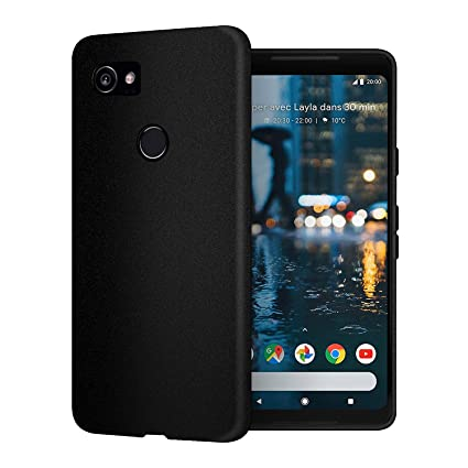 huge selection of 75895 8113b Clorox Silicon Soft Rubber Back Cover for Google Pixel 2 XL (Black)
