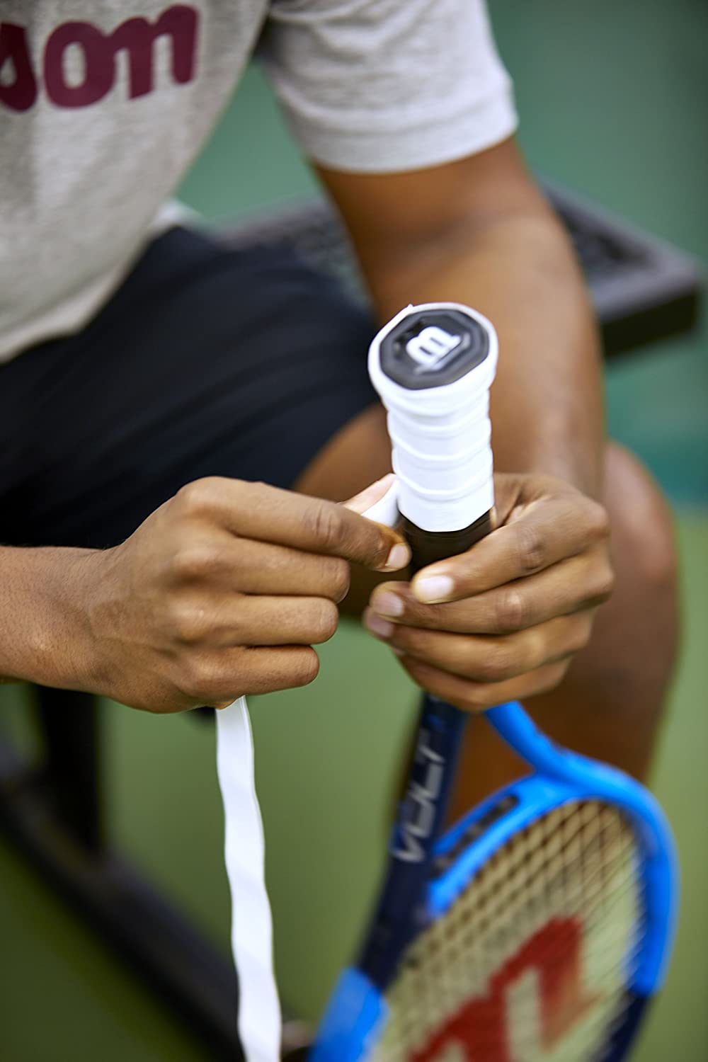 Wilson Pro Tennis Overgrip 12-Pack : Sports & Outdoors