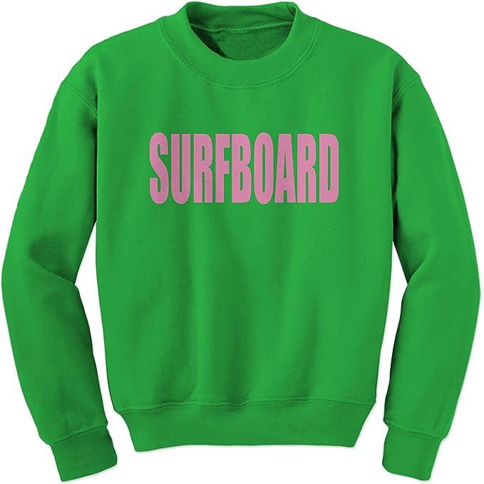Expresión Tees tabla de surf cuello redondo sudadera - Verde - : Amazon.es: Ropa y accesorios