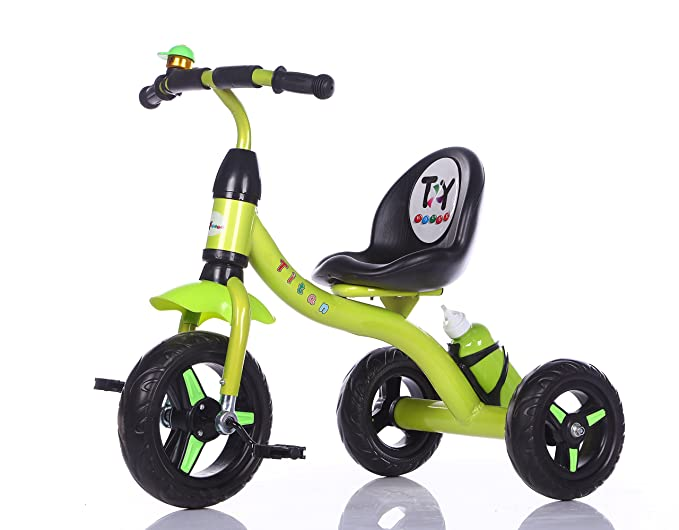 Toy House Titan Tricycle with Water Bottle, Green at amazon
