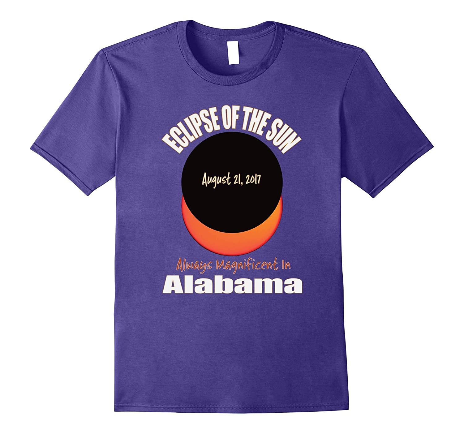 2017 Eclipse Alabama Souvenir T Shirt-Art