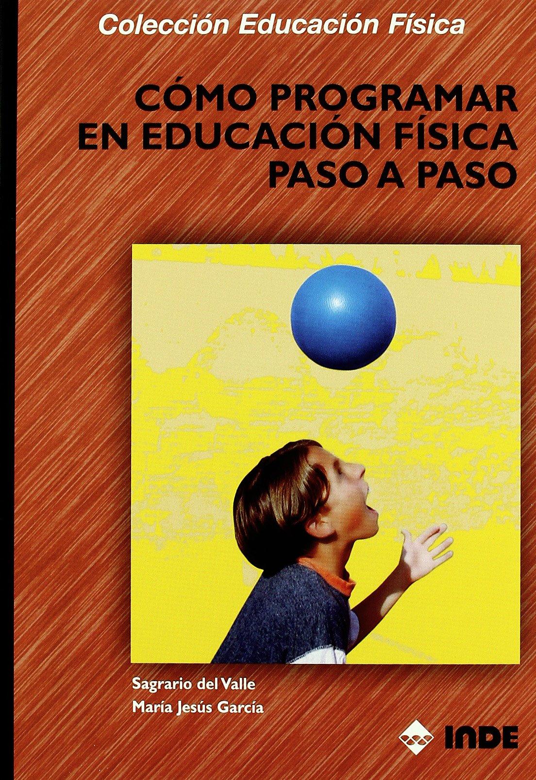 Cómo programar en Educación Física paso a paso Educación Física y su Didáctica: Amazon.es: Sagrario Del Valle Díaz, María Jesús García Fernández: Libros