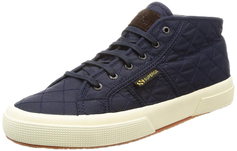 236eeafb1e2eae SUPERGA Men s 2754-quiltenylw Hi-Top Trainer Shoes - Blue (Navy)