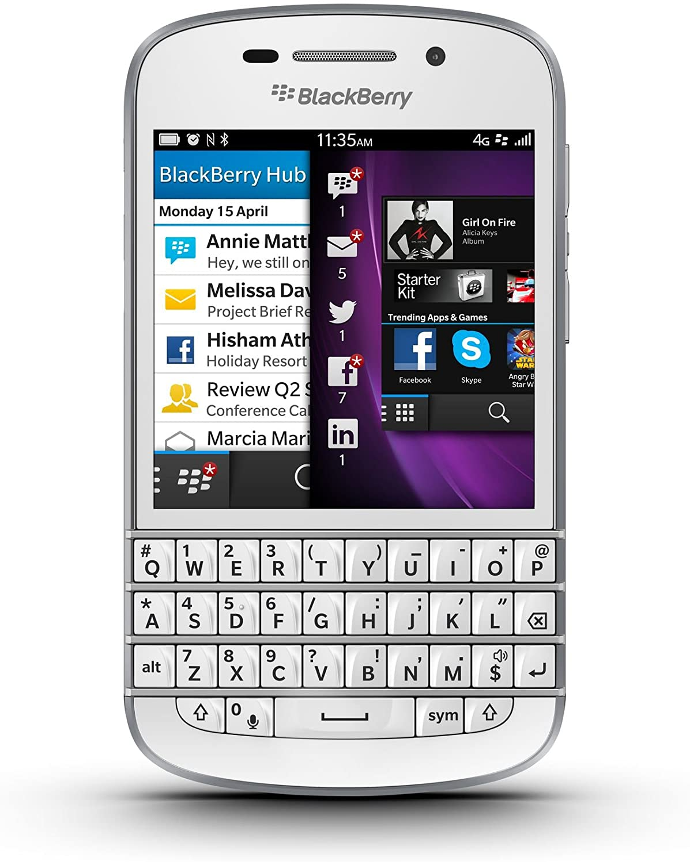 BlackBerry Q10 Unlocked Cellphone, 16GB, White 81TLpgbr64LSL1500_