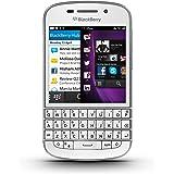 "Blackberry Q10 Smartphone, schermo amoled 3,1"", Cortex-A9 Dual-Core, 1,5GHz, 2GB RAM, 16GB, fotocamera 8 Megapixel, tastiera QWERTY, Bianco"