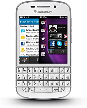 BlackBerry Q10 Unlocked Cellphone, 16GB, White