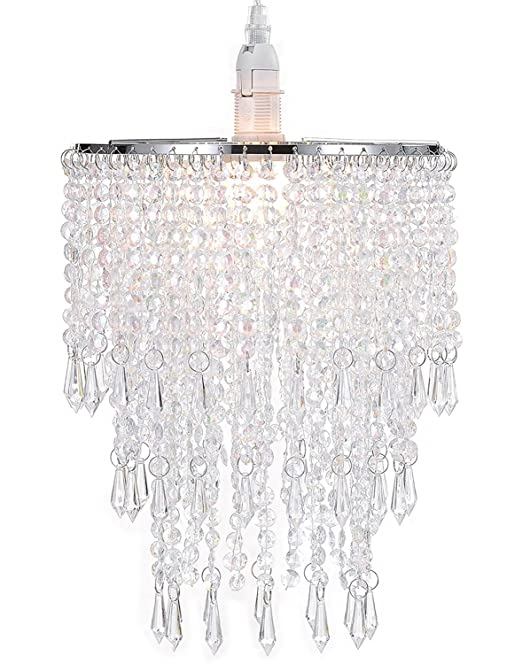 WanEway 3 Tiers Ceiling Chandelier Pendant Light Shade with ...