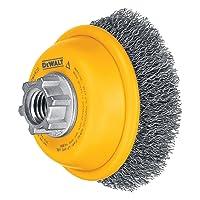 Deals on DEWALT Wire Cup Brush Crimped 3-Inch DW4920
