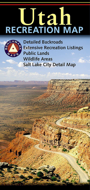 Utah Recreation Map ebook