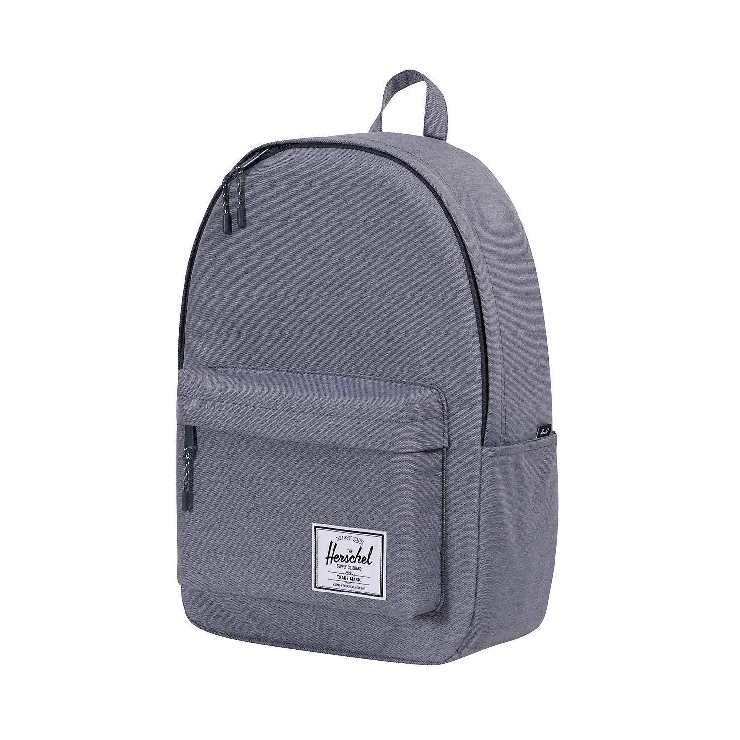 Herschel Classic X-Large Backpack, Mid Grey Crosshatch, One Size