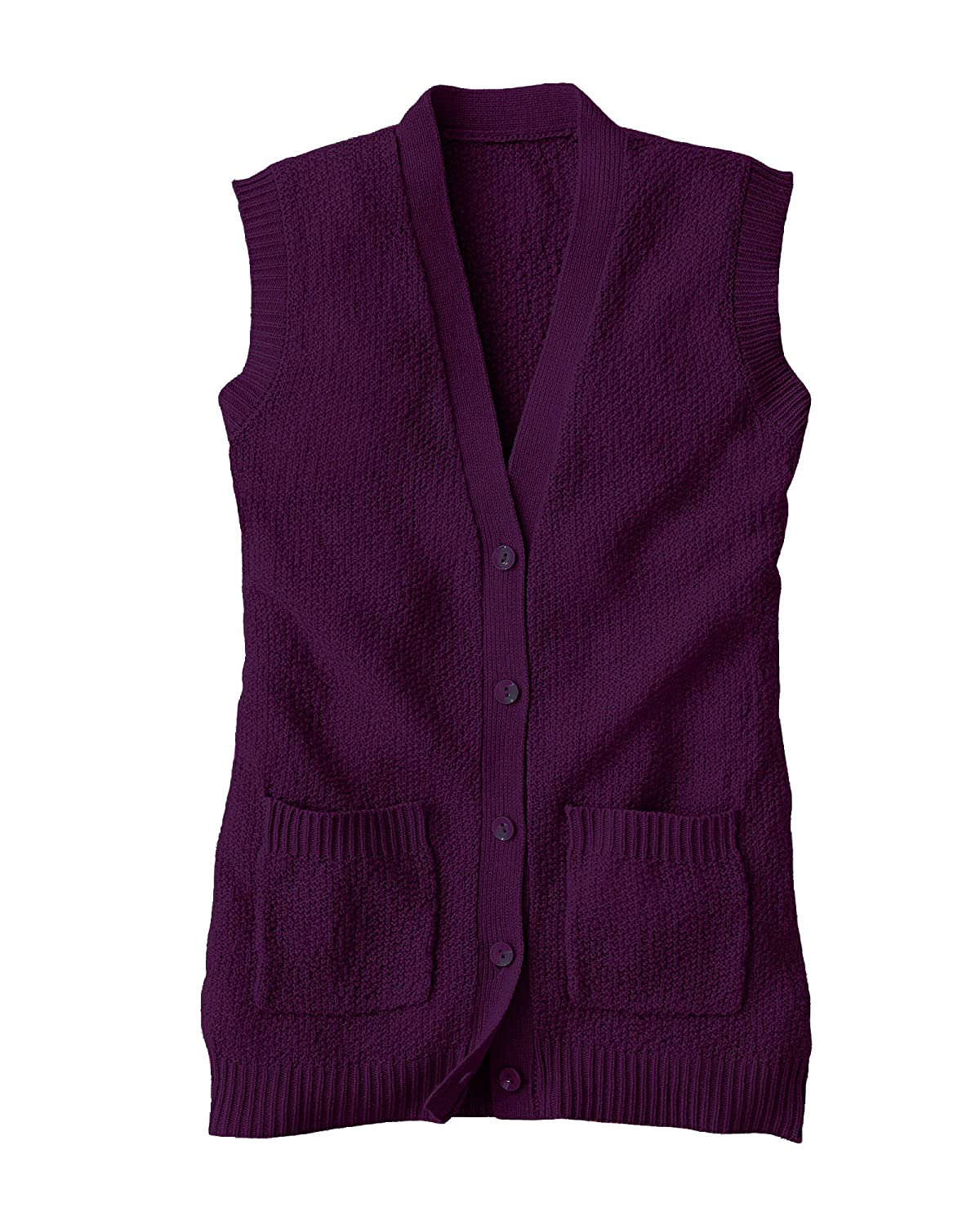 National Scramble Stitch Sweater Vest 5163