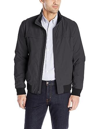dadda160f06b Amazon.com  Dockers Men s Microtwill Golf Bomber Jacket  Clothing