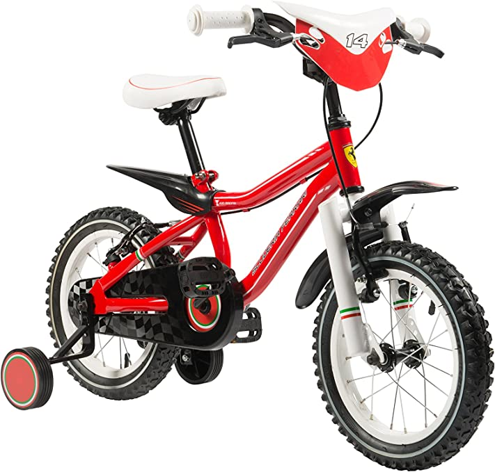 SCUDERIA FERRARI Bicicleta Kid Racing 14