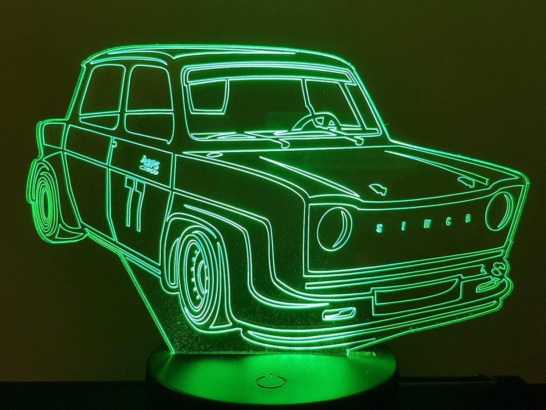 Simca 1000 Rallye 2, Lampe 3D à LED Lampe 3D à LED