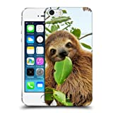 Head Case Designs Three Toed Sloth Famous Animals Protective Snap-on Hard Back Case Cover for Apple iPhone 5 5s