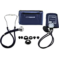 Primacare Medical Supplies DS-9181 - Kit profesional de medición de tensión arterial (con estetoscopio Sprague-Rappaport)