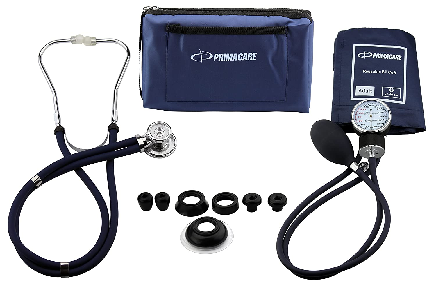Primacare Medical Supplies DS-9181 - Kit profesional de medición de tensión arterial (con estetoscopio Sprague-Rappaport): Amazon.es: Industria, ...