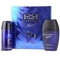 Rapport Eau De Toilette 100ml & Deodorant Body Spray 150ml Gift Set for Men