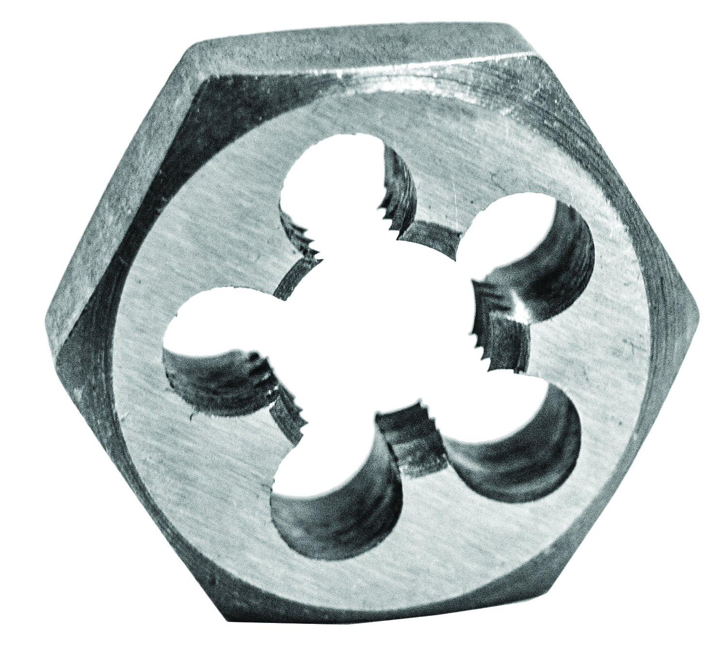 Century Drill & Tool 95620 High Carbon Steel Metric Hexagon Die, 14x1.25 by Century Drill & Tool