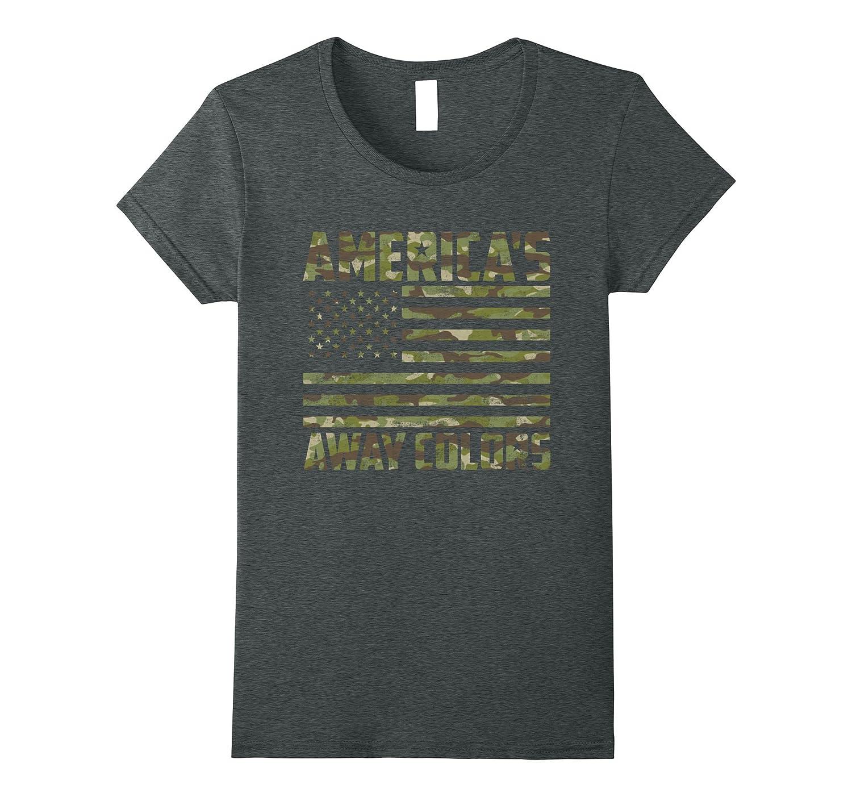 Camo American flag Shirt Veteran T Shirt 4th July Shirt