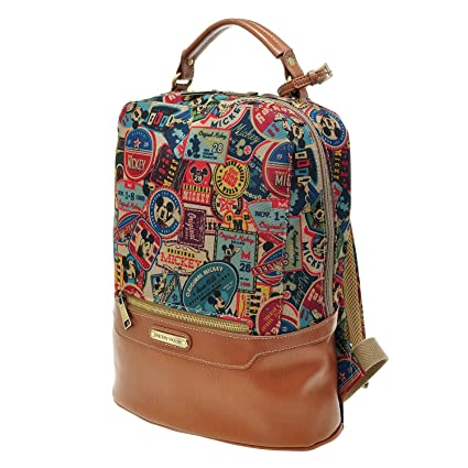 Amazon.com  Disney A99 Mickey Mouse Women Girls Vintage Backpack ...