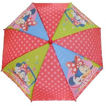 Niños paraguas y sombrilla Disney Minnie Ratón 70 x 58 cm