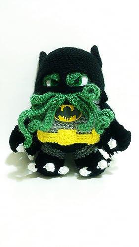 Batman Cthulhu Doll Batthulhu 9 Inches Amazon Handmade