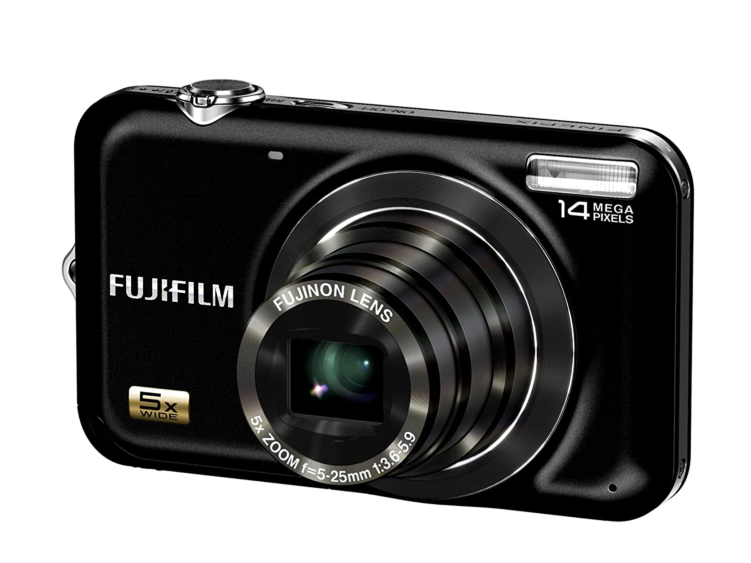 Amazon.com : Fujifilm FinePix JX250 14 MP Digital Camera with 5x Wide Angle  Optical Zoom and 2.7-Inch LCD : Point And Shoot Digital Cameras : Camera &  Photo