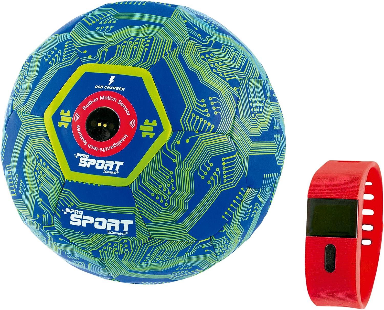 itsImagical Pro-Sport - Balón de fútbol inteligente cuenta toques ...